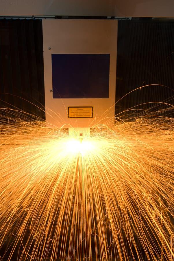 skomputeryzowany zmyślenia maszyny metal obraz stock