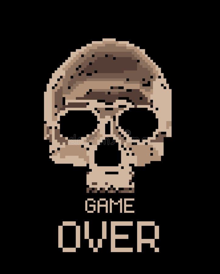 Skool del pixel ilustración del vector