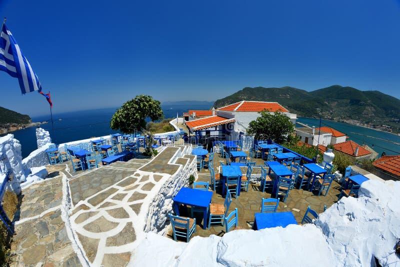 Skopelos Grecia fotografía de archivo libre de regalías