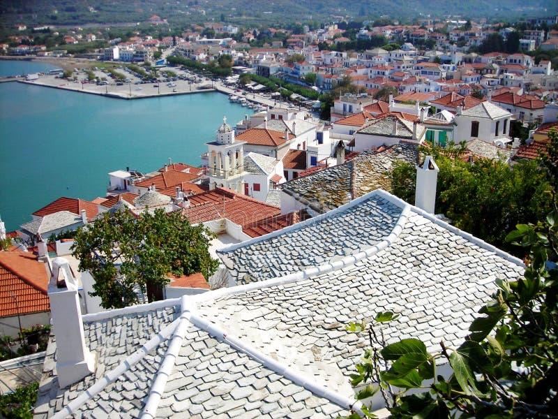 Skopelos, Grecia imagen de archivo