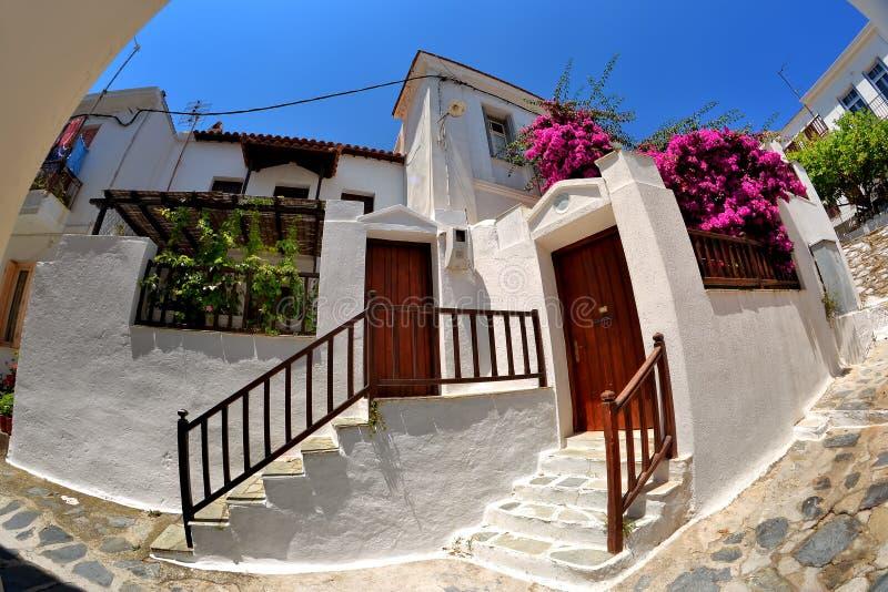 Skopelos Greece Stock Photo