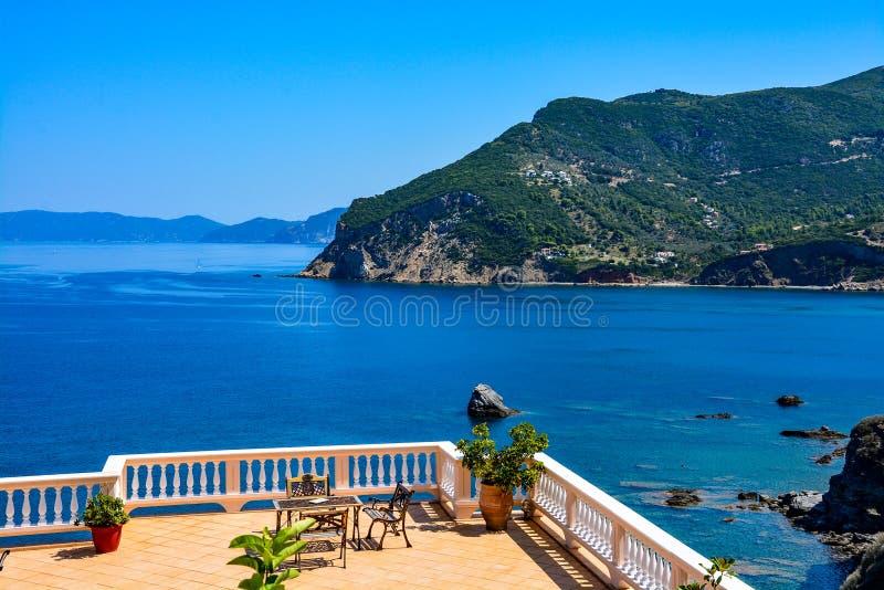 Skopelos island royalty free stock image