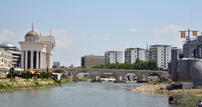 Skopje, Macedonia fotografie stock