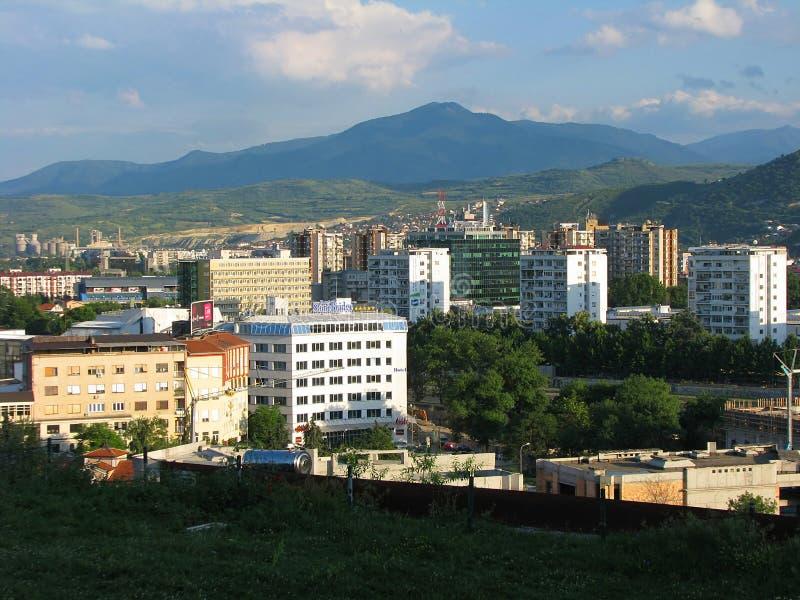 Skopje macedonia fotografering för bildbyråer