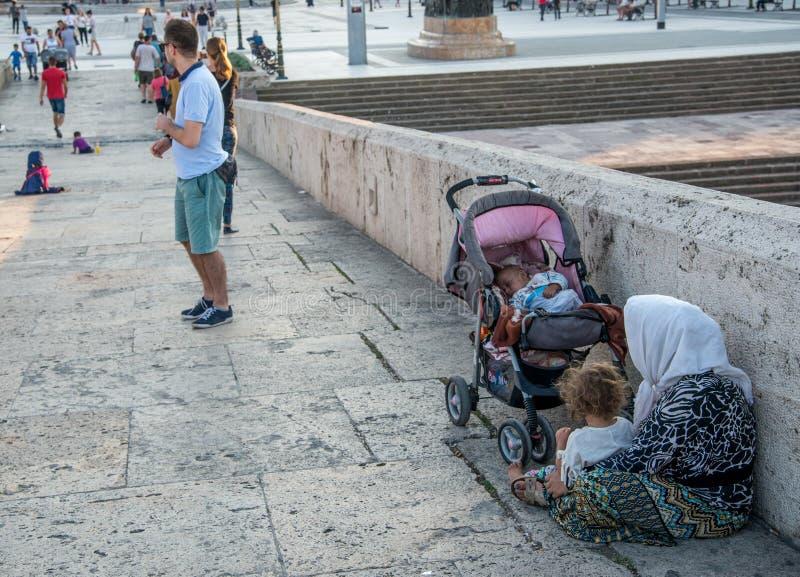SKOPJE, MACEDONIA-AUGUST 29,2018 fotos de archivo libres de regalías