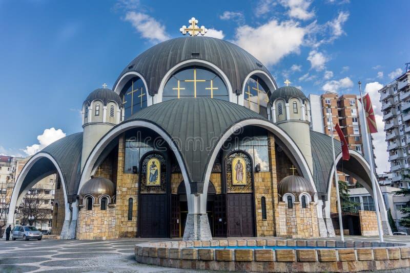 Skopje, Macedonia. Church of St. Clement of Ohrid & x28;Soborna Crkva stock image