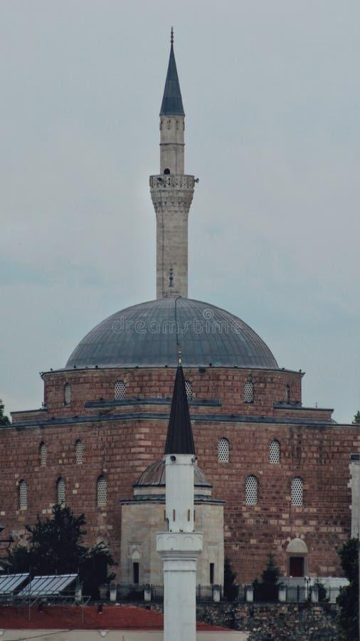 Skopje Mustafa Pasha Mosque arkivbilder