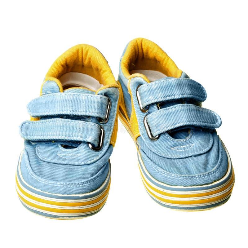 skor för barn s arkivfoto