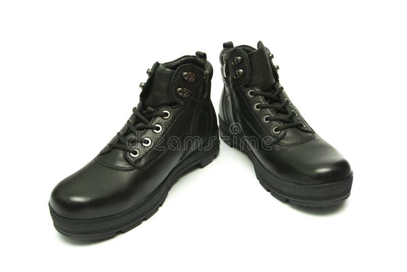 skor för män s royaltyfri fotografi