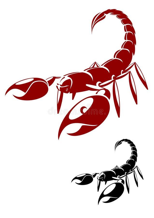 skorpion ilustracja wektor