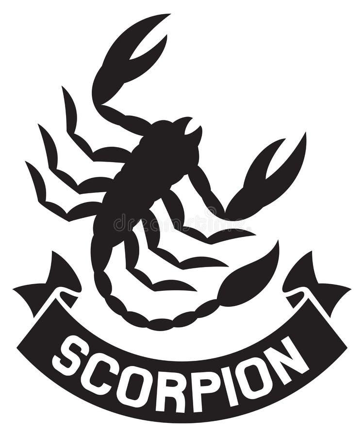 Skorpion stock abbildung