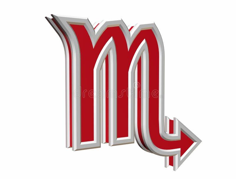 skorpion simbol zodiak zdjęcie royalty free