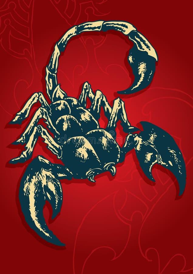 Skorpionu wektor - 03 ilustracji