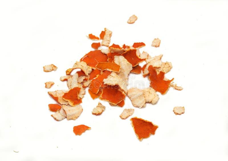 Skorupa tangerine obrazy stock