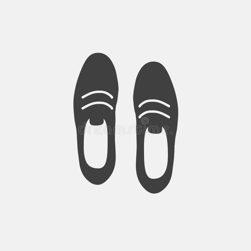 Skosymbol stock illustrationer