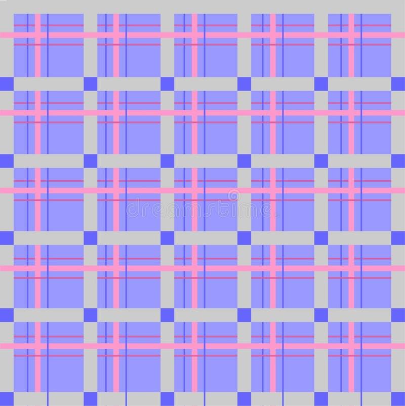 Skotsk cell som är sömlös, vektormodell royaltyfri foto