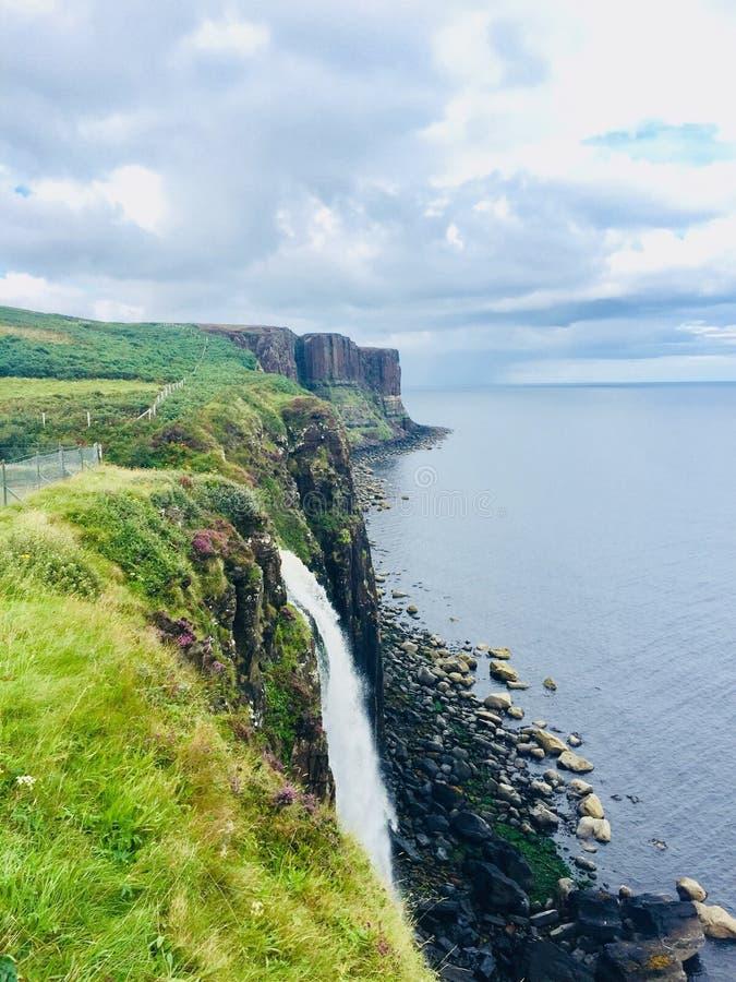 skotsk vattenfall arkivbilder