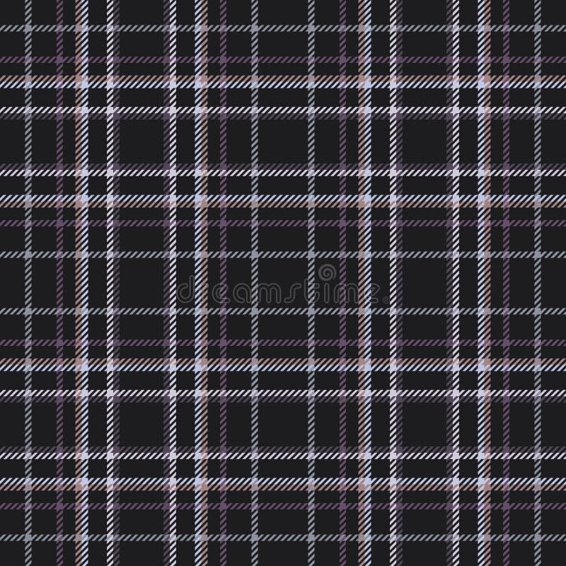 Skotskt tyg för tartan eller plädmodell scotland stock illustrationer