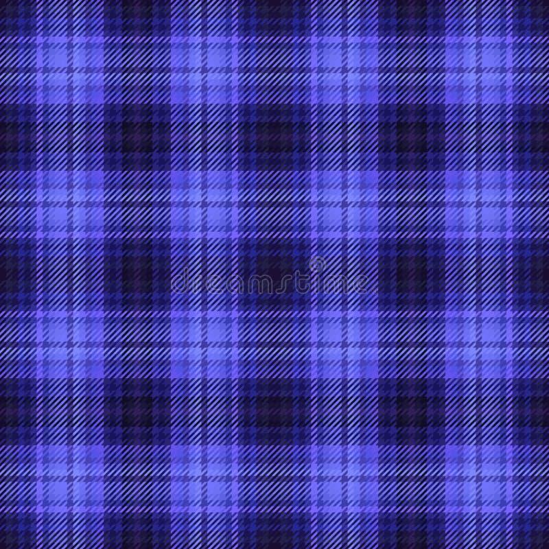 Skotskt tyg f?r pl?d och tartanmodell, tegelplatta royaltyfri illustrationer