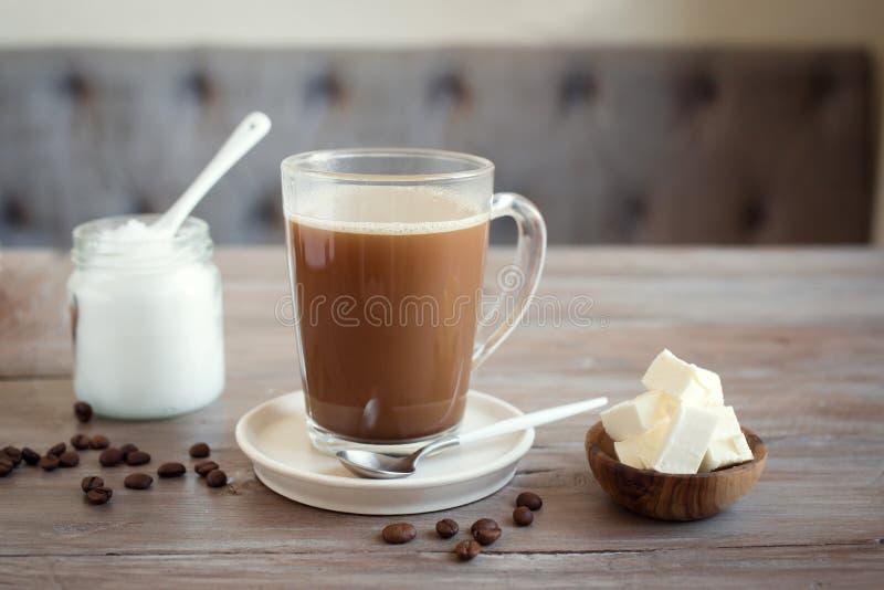 Skottsäkert kaffe royaltyfri foto