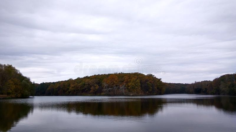 Skovorodinovka湖 库存照片