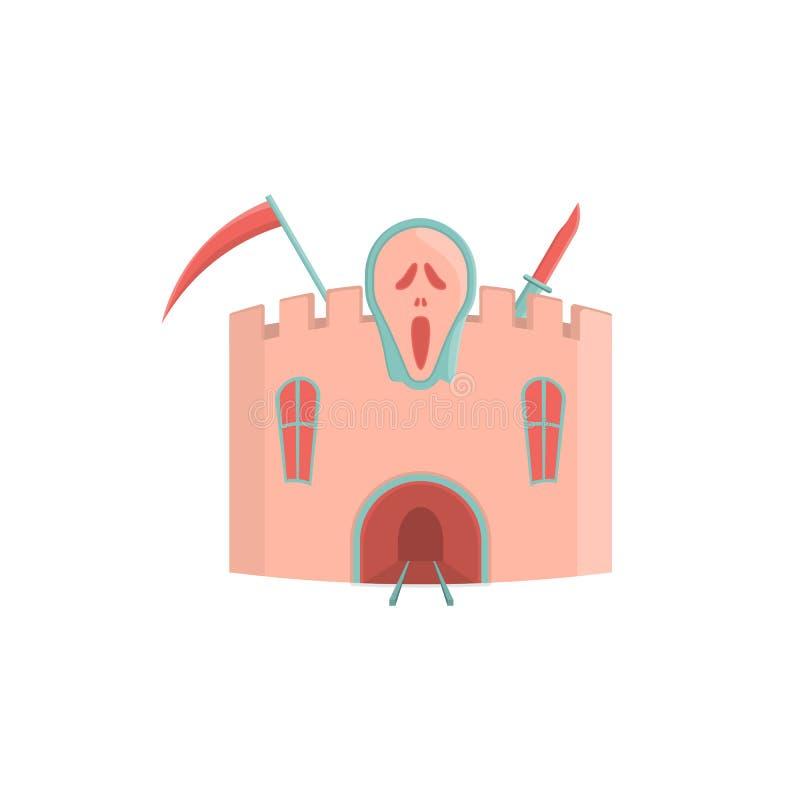 Skräckslott royaltyfri illustrationer