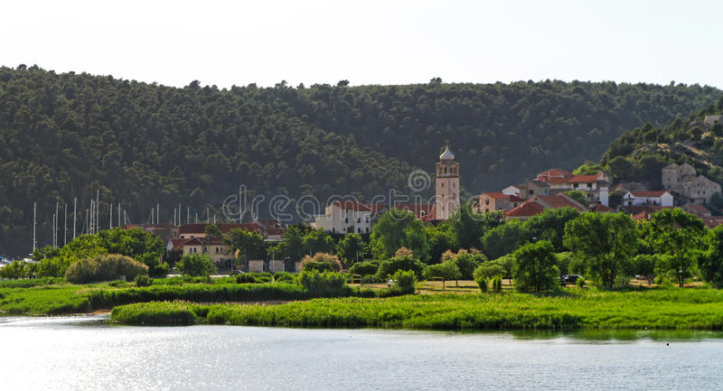 Skradin royalty free stock images
