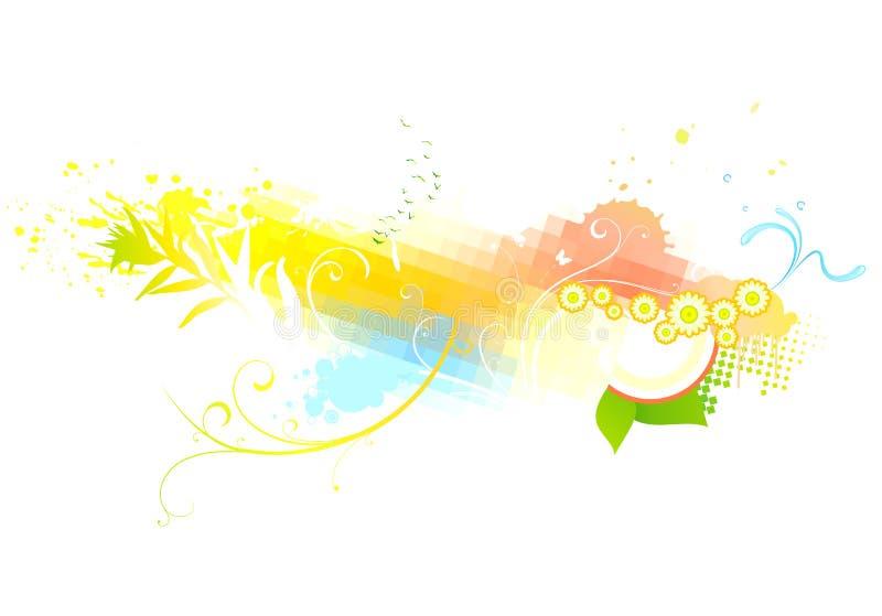 Skraj abstrakt bakgrund stock illustrationer