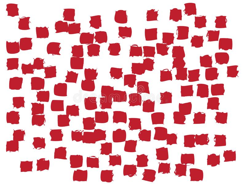 Skraj konfettibakgrund stock illustrationer