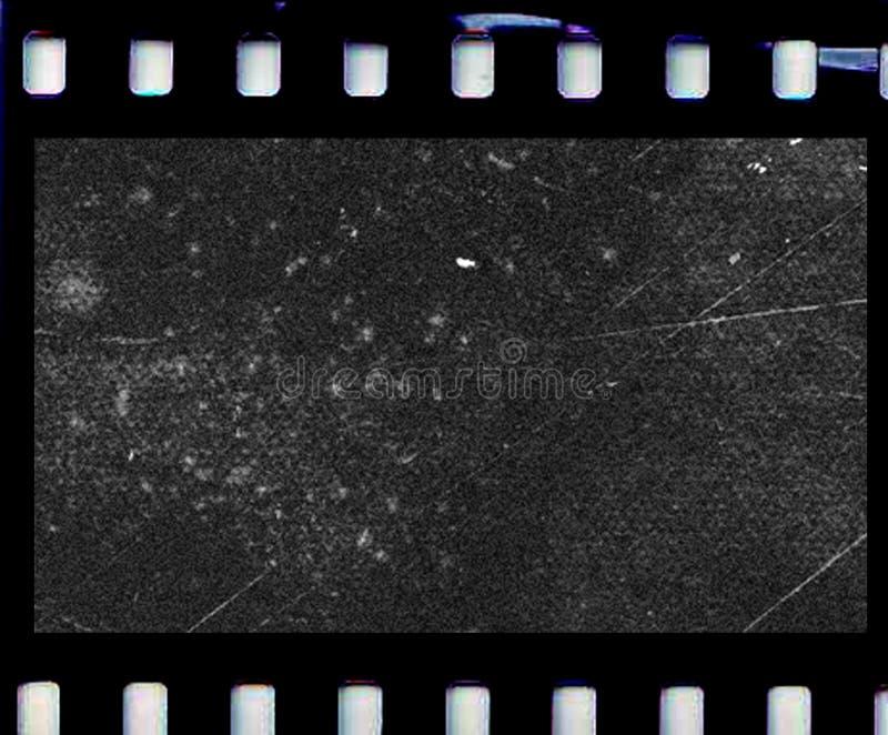 Skrapad fotofilm royaltyfria foton