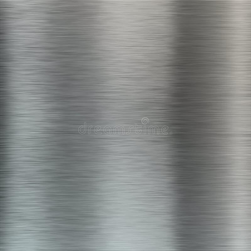 Skrapad grå metalltexturbakgrund royaltyfria foton