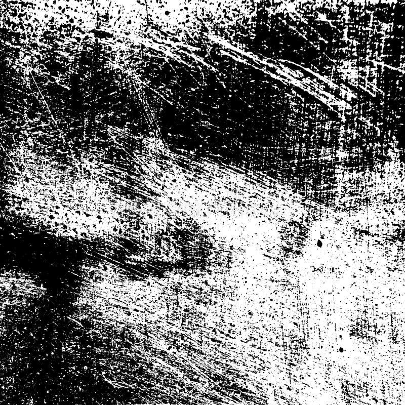 Skrapad samkopieringstextur vektor illustrationer