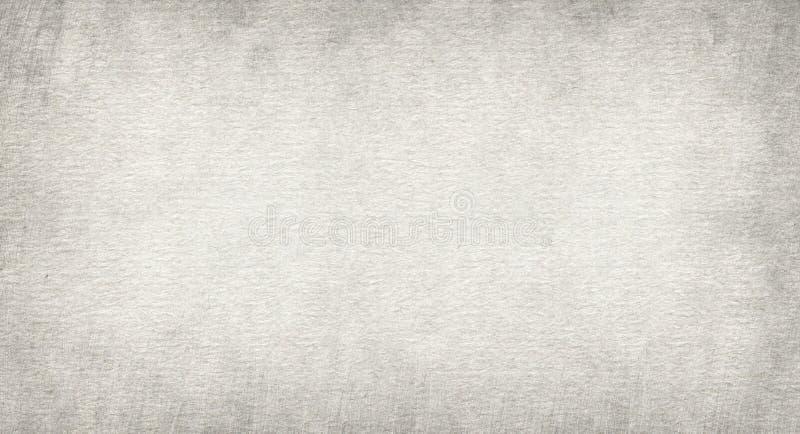 Skrapad textur för grungehorisontalåteranvänd anmärkningspapper, ljus bakgrund royaltyfri fotografi