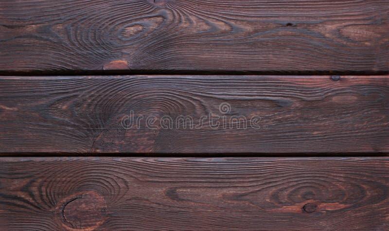 Skrapad träskärbräda för mörk brunt royaltyfria bilder