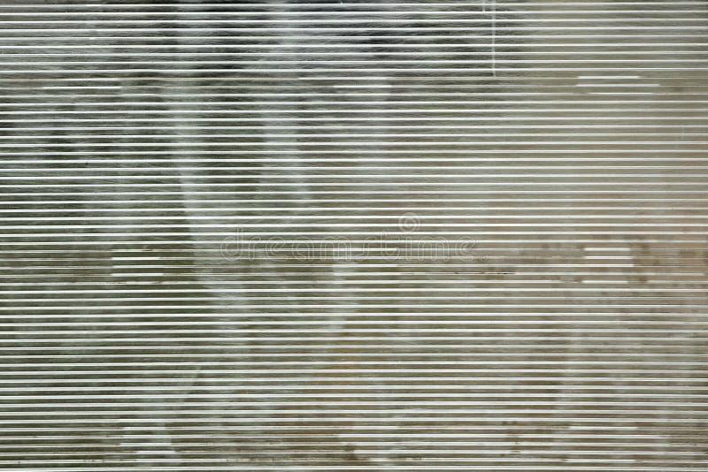 Skrapat cell- Polycarbonateark Backgr för vit genomskinlighet fotografering för bildbyråer