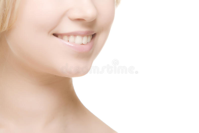 skratta leendekvinna royaltyfria foton