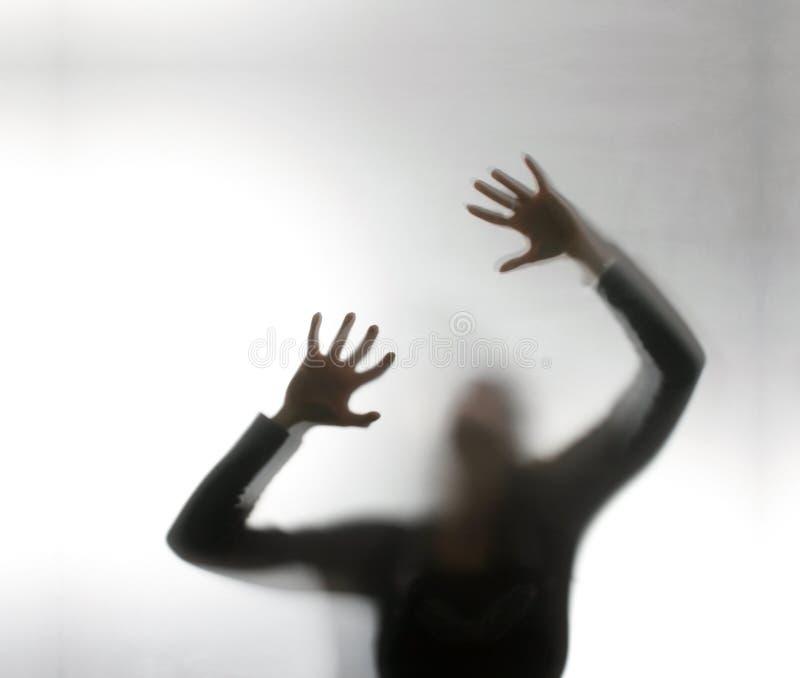 skrikig kvinna arkivfoton