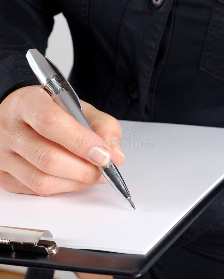 skriv arkivbild