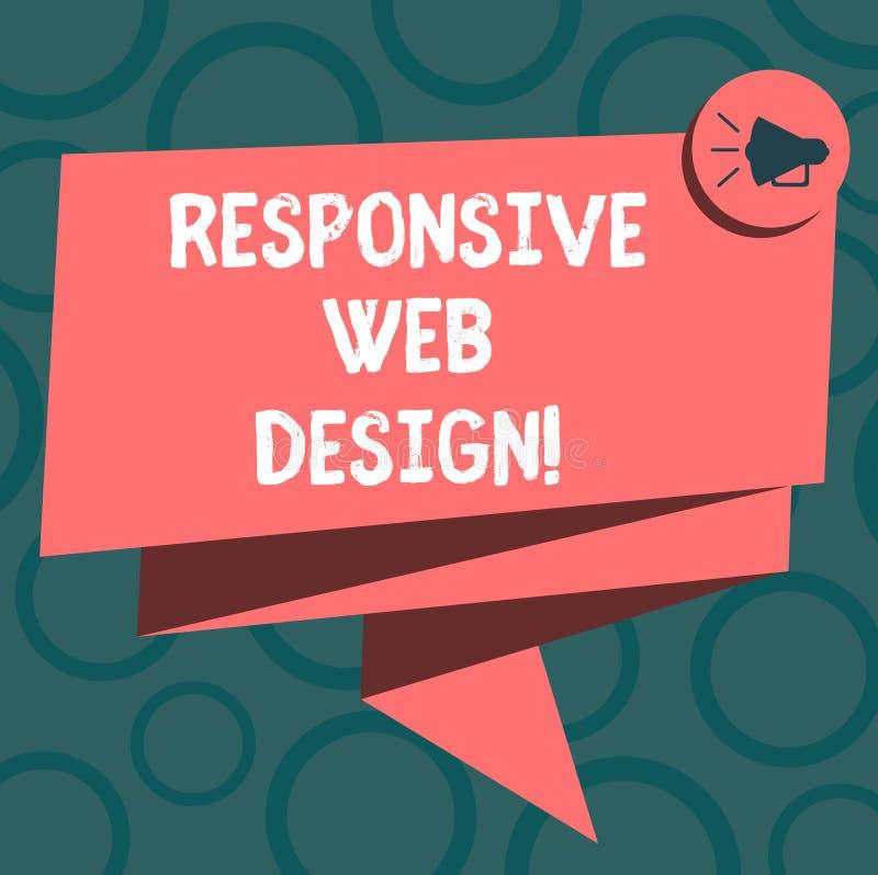 Skriva anmärkningsvisning svars- rengöringsdukdesign Affärsfoto som ställer ut webbsidaskapelsen som gör bruk av böjligt stock illustrationer