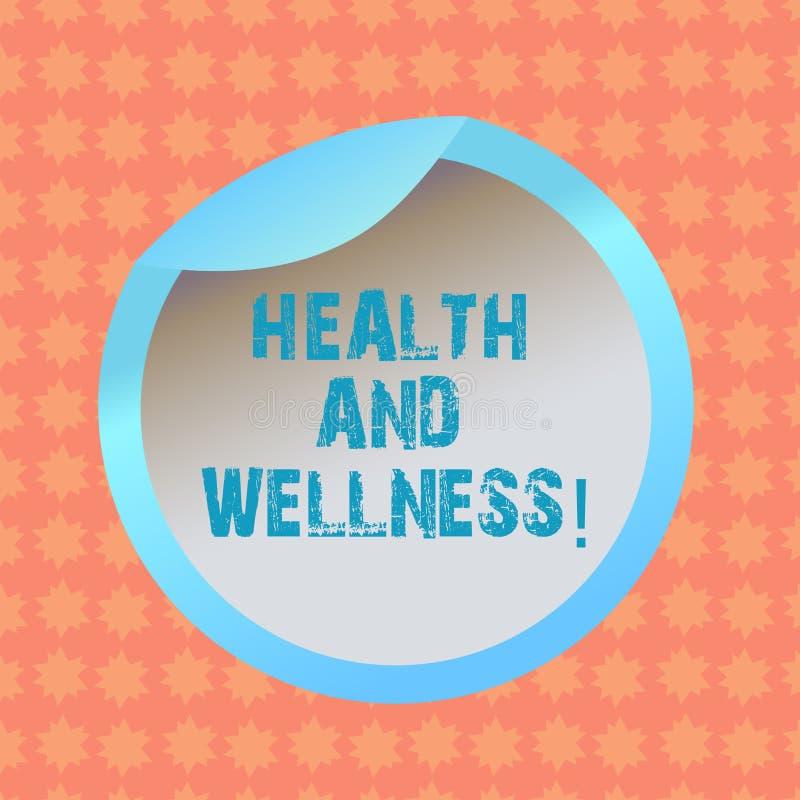 Skriva anmärkningsvisninghälsa och Wellness Affärsfoto som ställer ut vara i för matgenomkörare för bra form sund flaska för vatt vektor illustrationer