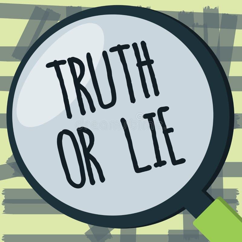 Skriva anmärkningsvisningsanning eller lögn Affärsfotoet som ställer ut beslut mellan att vara ärligt ohederligt primat tvivel, a vektor illustrationer