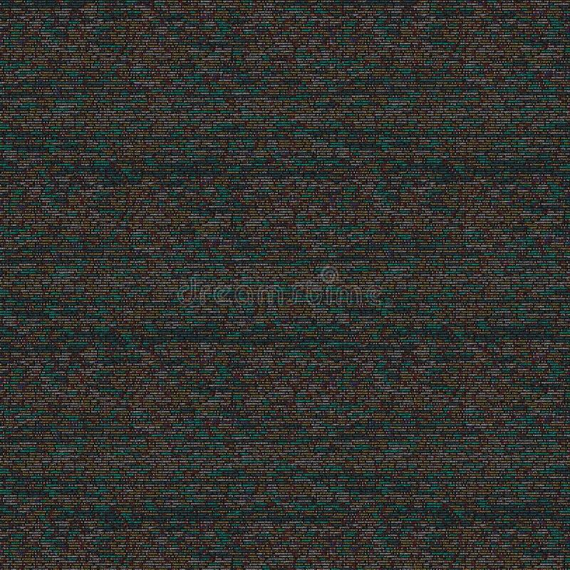 Skriva programmera kod på bärbara datorn Digital binära data på datorskärmen royaltyfria bilder