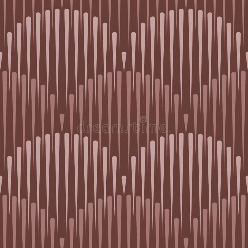 Skrivar den sömlösa modellen ut för den japanska vågen, sömlösa linjer, geometriskt stock illustrationer