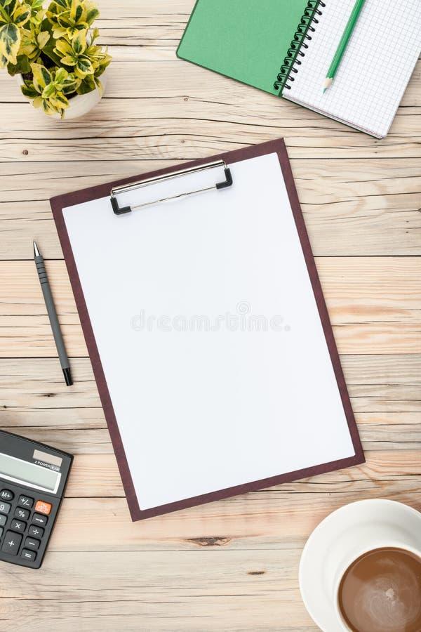 skrivbord arkivbild
