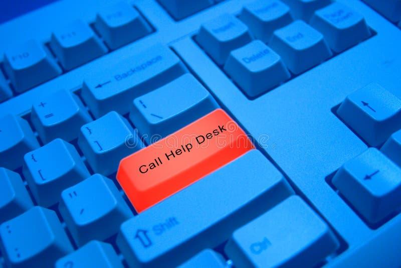 skrivbordhjälp arkivfoto