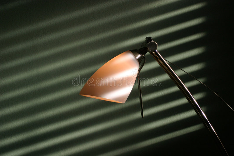 Skrivbordlampa Royaltyfri Fotografi