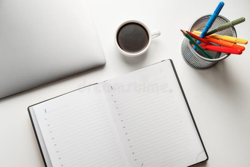 Skrivbords- blandning royaltyfri bild