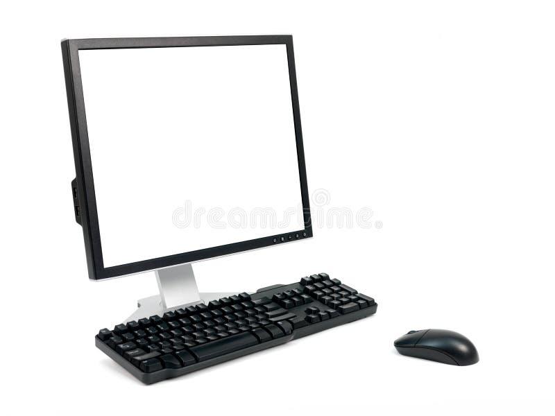 Skrivbords- dator fotografering för bildbyråer
