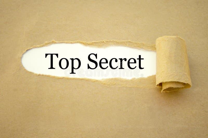 Skrivbordsarbete med bästa - hemlighet royaltyfri foto