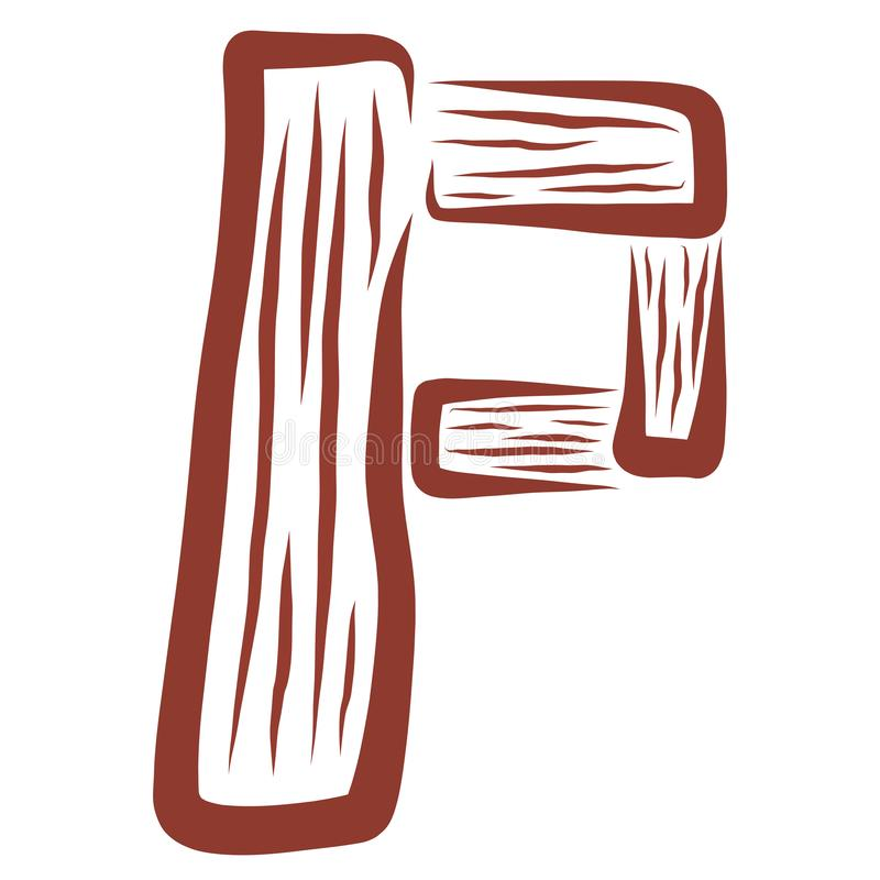 Skrivelse p av trädetaljer, mönster stock illustrationer